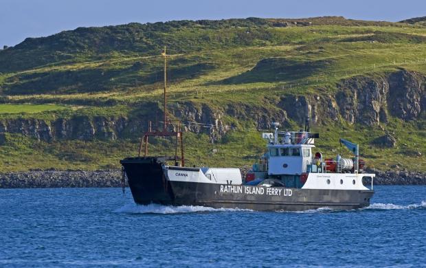 MV Canna Rathlin Ferry