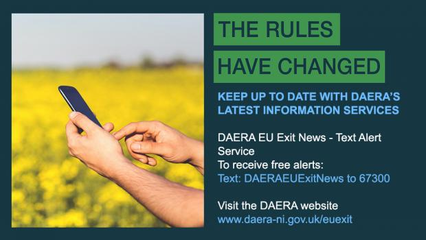 Keep up-to-date with DAERA's latest information services