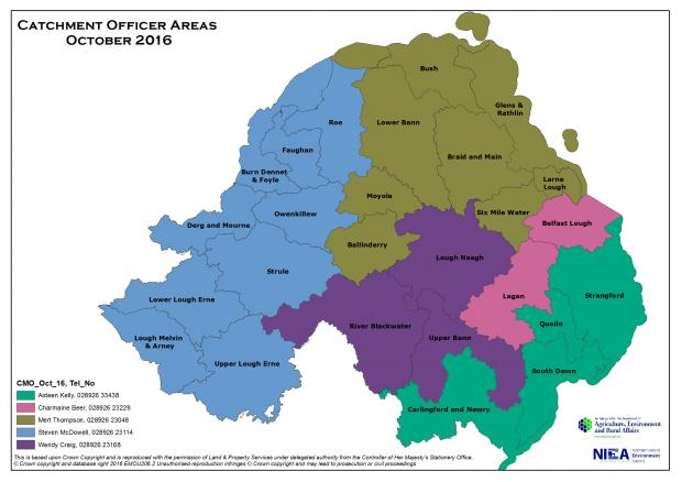 Catchment Officer Areas