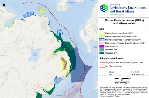 Marine Protected Areas in Northern Ireland