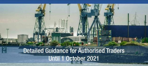 Detailed Guidance For Authorised Traders until 1 October 2021