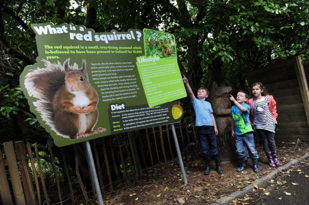 Belfast Zoo signage