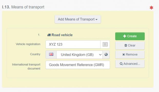 I.13 Means of Transport