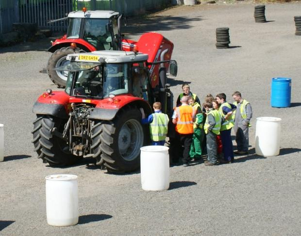 Tractor driving course for 13 to 15 year olds