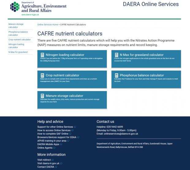 CAFRE Nutrient Calculators – How can they help you