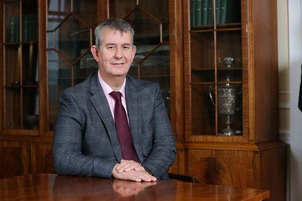 Daera Minister Edwin Poots