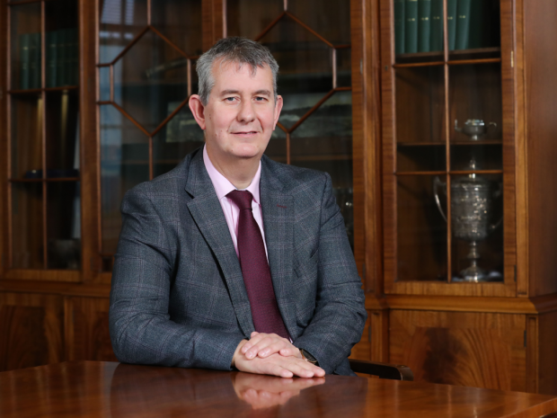 Photo of Edwin Poots, Minister os Agriculture, Environment and Rural Affairs