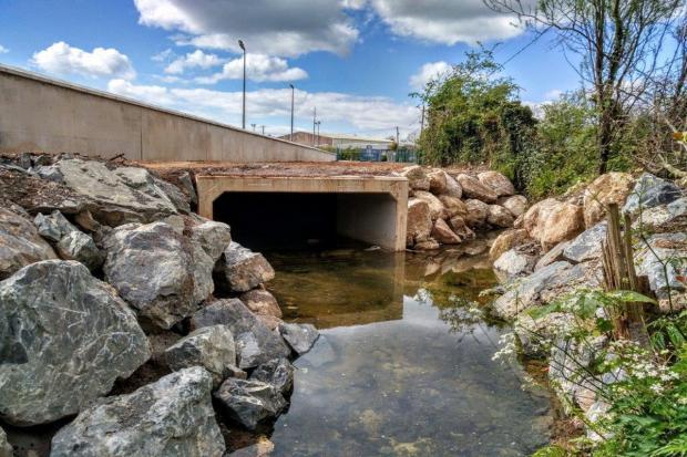 Lissue Stream, Lisburn Flood Alleviaotion Scheme