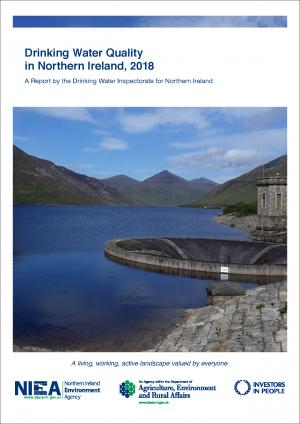 Drinking Water Quality In Northern Ireland - Front Cover