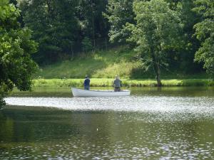 Fishermen in Dungannon Park